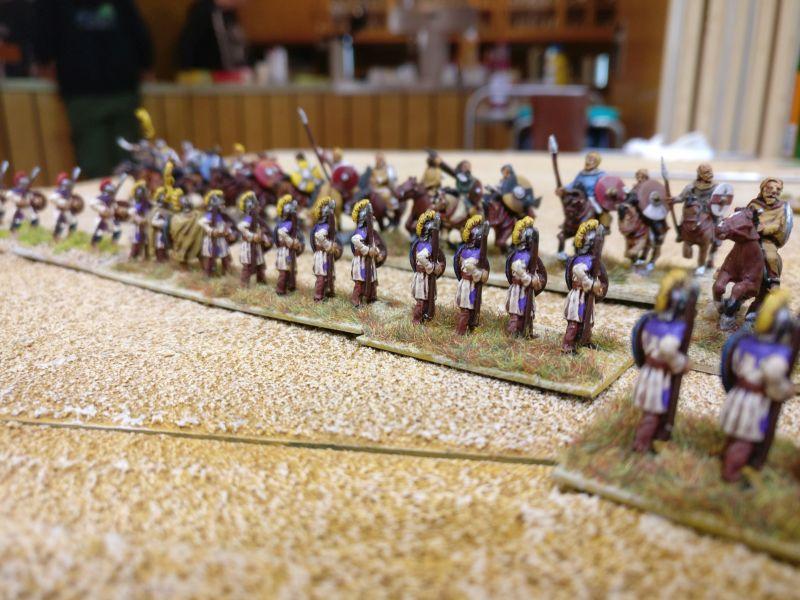 Die geschlossenen Reihen der Late Imperial Roman