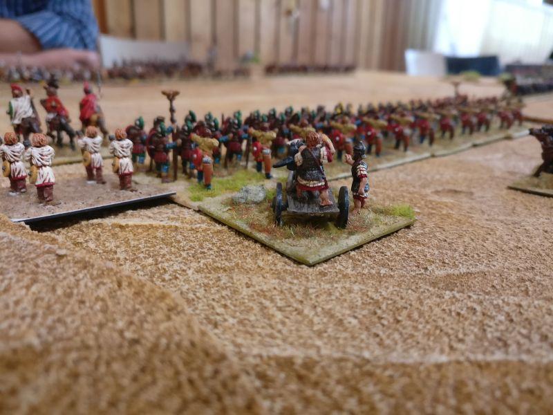Der Liebling des Gaius Julius Sturmicus: Die Artillery. Regulär und Fast und vor allem weit reichend.
