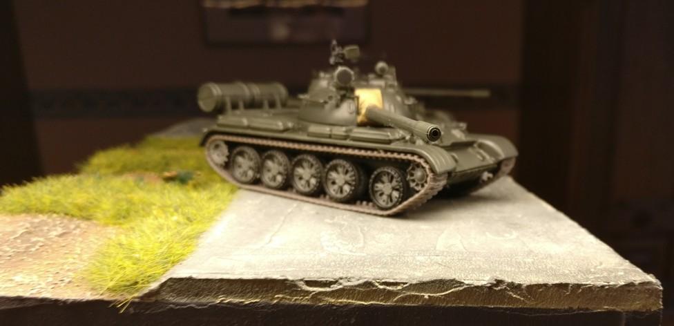 Nochmal die beiden De Agostini T-55 A (Die Panzersammlung)