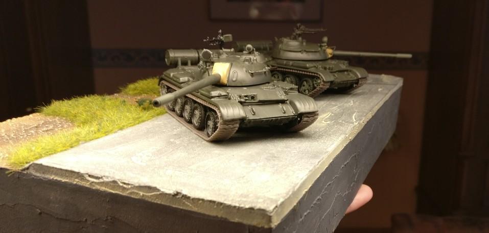 Und nochmal die zwo De Agostini T-55 A (Die Panzersammlung)