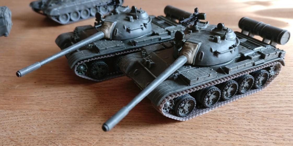 Finito: Die zwei De Agostini T-55 A (Die Panzersammlung) sind abnahmebereit.
