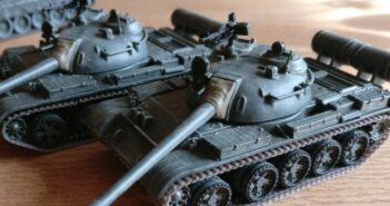 De Agostini T-55 A für Berlin 1985. Oder wie die Gurken laufen lernten.