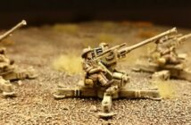 FoW Bofors 40mm gun (Flames Of War BR540)