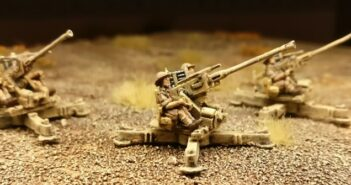 FoW Bofors 40mm gun (Flames Of War BR540)