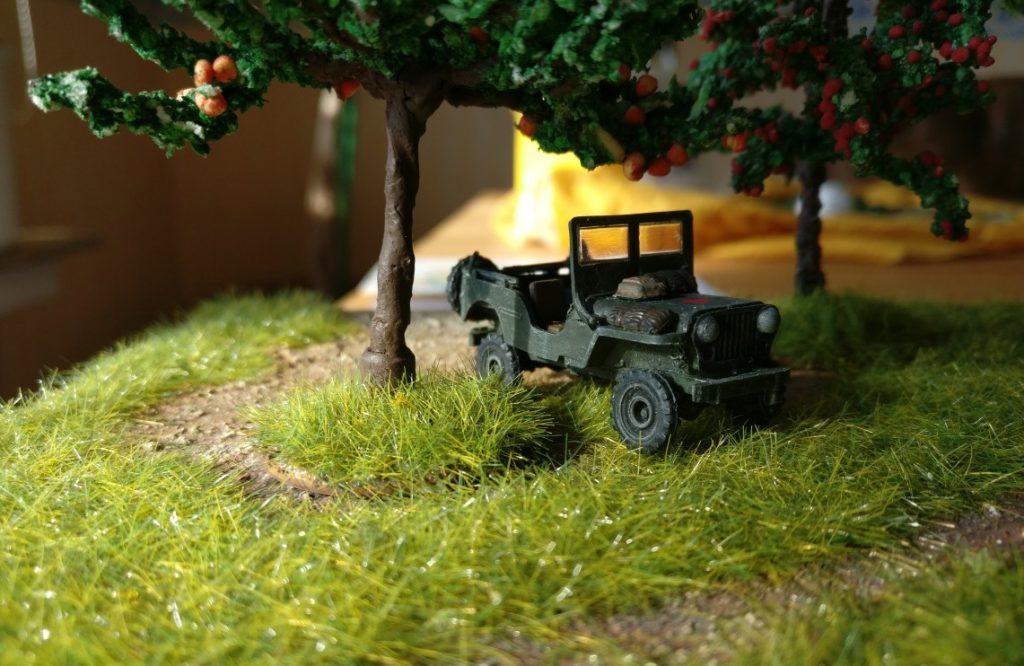 Fotoserie: Zwei Bren Carrier und ein Jeep aus dem Lend-Lease-Abkommen der Roten Armee - irgendwo bei Kursk oder so...