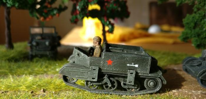 Lend-Lease: 2 Bren-Carrier und ein Jeep für Sturmis rote Armee