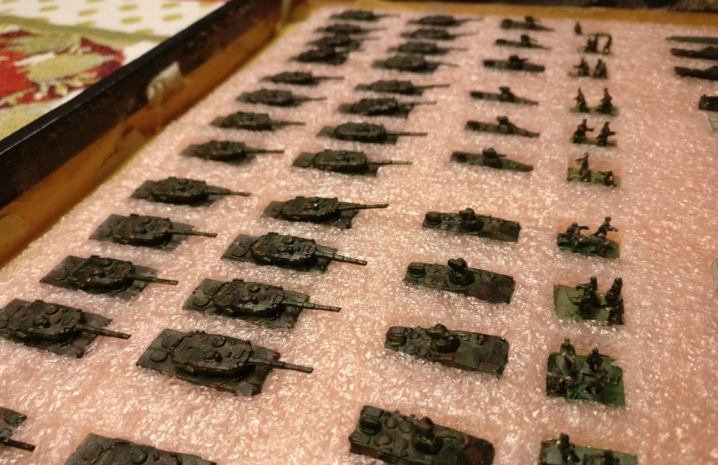 Panzer-Bataillon der Bundeswehr: Xenas GHQ Models Micro Armour -Lieferung