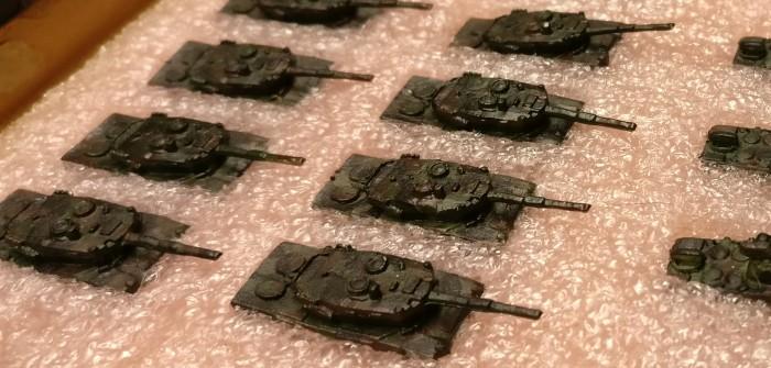 Panzer-Bataillon der Bundeswehr: Xenas GHQ-Micro-Armor-Lieferung