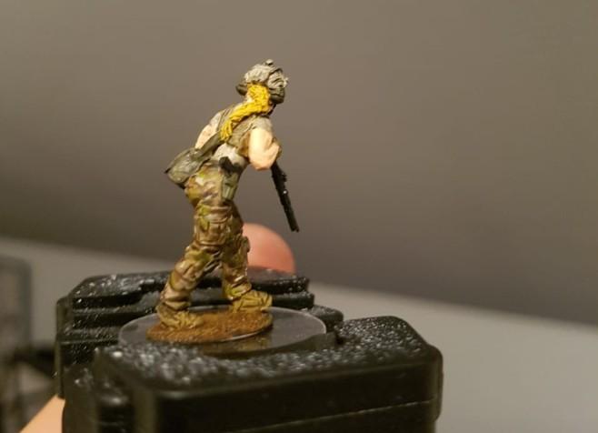 Ein CIA-Agent von Davids Truppe für Spectre: Operations von Spectre Miniatures