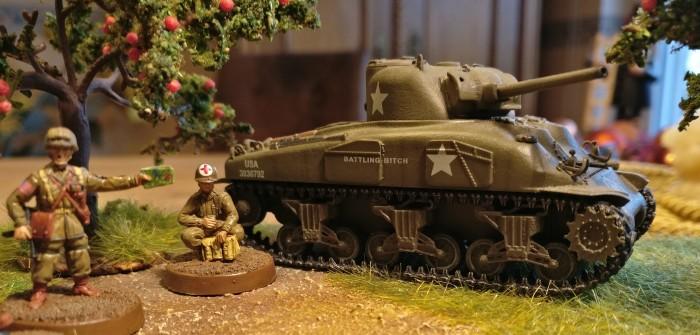 TQD AA1 US Airborne, M1 Garand, wearing M43 Body Suit, 1944-45: Max und seine Amis