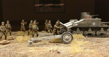 Zvezda 6122 Soviet Howitzer 122mm M-30: Über das Werden der Bedienmannschaften.