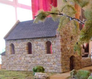 La Chapelle de Cauquigny: So hat Rusus das Gebäude originalgetreu im Bauzustand von Juni 1944 umgesetzt.