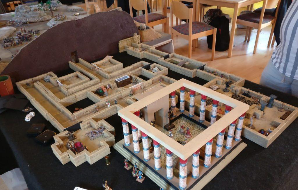 Der Spieltisch Mamelucken, Gräber & Gelehrte vom THS / Team für historische Simulationen