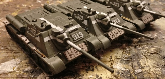 "DeAgostini SU-85 ""13th Polish Artillery Regiment"" Berlin 1945"