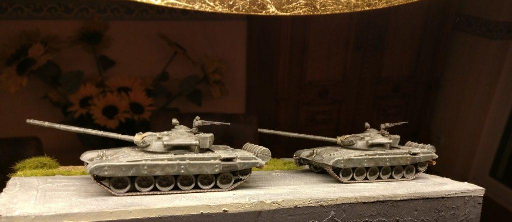 """Der DeAgostini T-72 M1 gehört jetzt nicht mehr zur 1st Guards Armoured Division, sondern zum Szenario """"Berlin 1985"""" und dort zum 68. Rotbanner-Garde-Panzerregiments"""