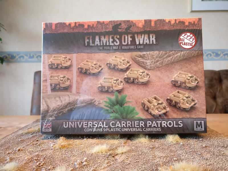 Flames of War BBX35 Universal Carrier Patrols