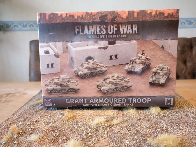 Flames of War BBX37 Grant Armoured Troop