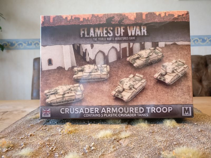 Flames of War BBX39 Crusader Armoured Troop