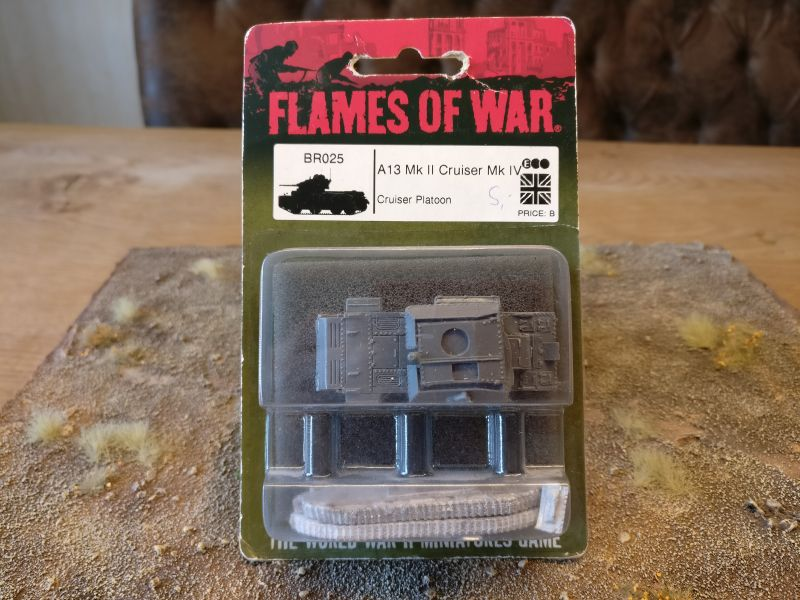 Flames of War BR025 A13 Mk II Cruiser Mk.IV