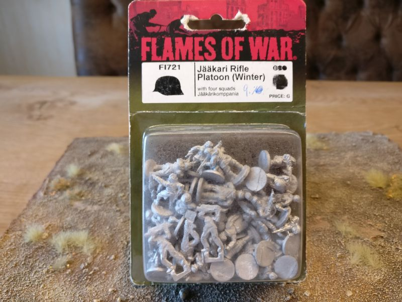 Flames of War FI721 Jääkai Rifle Platoon (Winter)