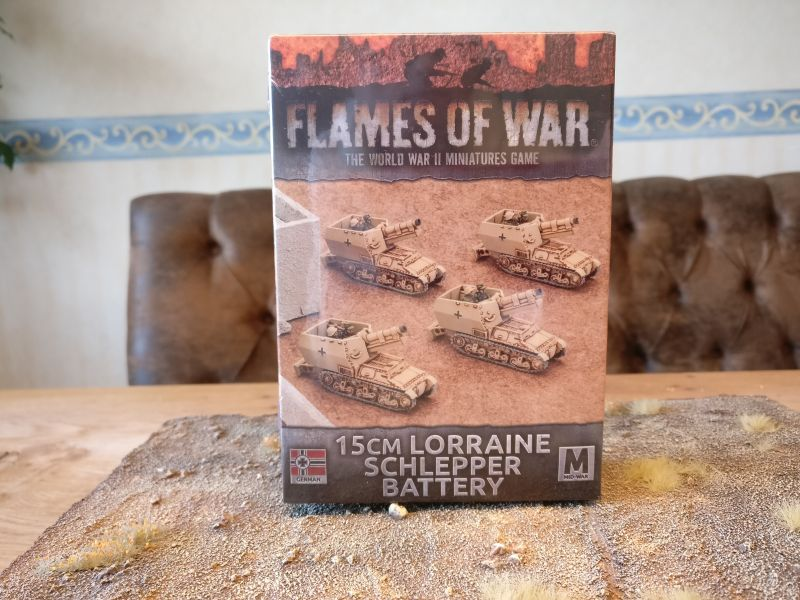 Flames of War GBX95 15cm Lorraine Schlepper Battery