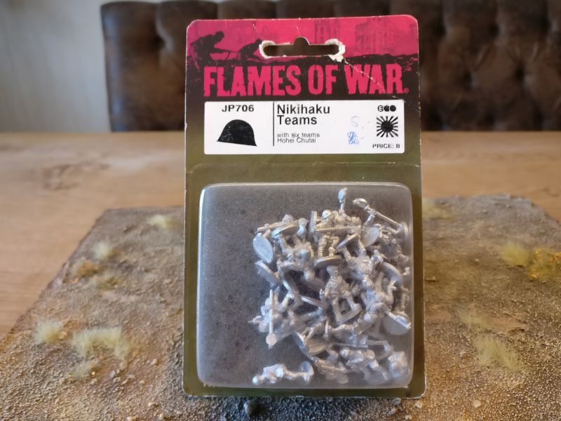 Flames of War JP706 Nikuhaku-Teams (Hohei-Chutai)