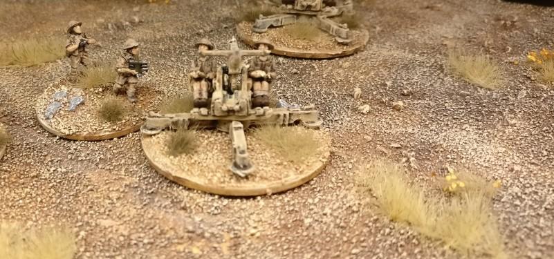 Geschütz #2 der Batterie 40mm Bofors Flak von Flames of War.