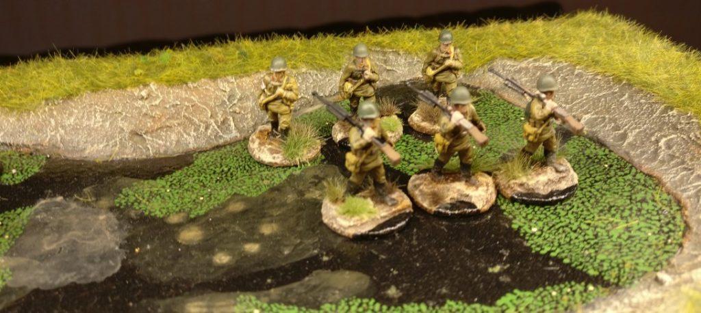 Drei weitere LMG-Trupps für das 44. Schützenregiment.