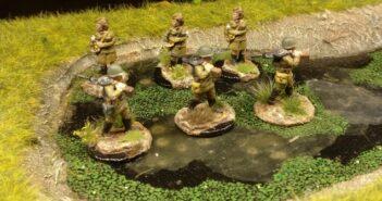 Frische Sumpfschleicher für das 44. Schützen-Regiment