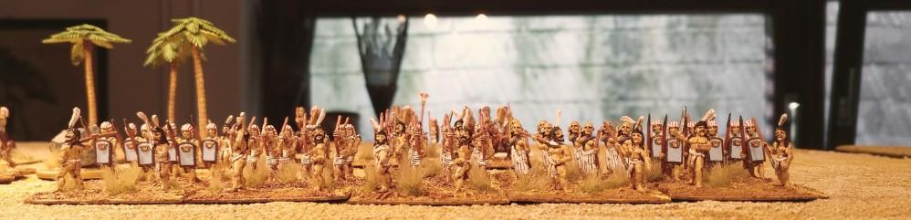 Kommando wie Ra mit Nubischen Bogenschützen