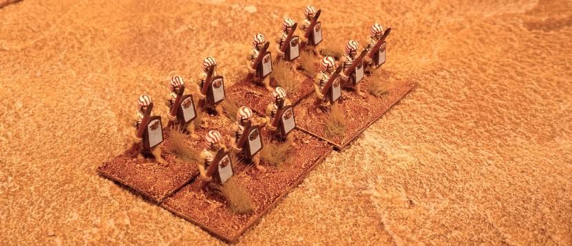 Die Klingen, Leibwächter der Bogenschützen.