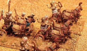 Streitwagen der Neues Reich Ägypter
