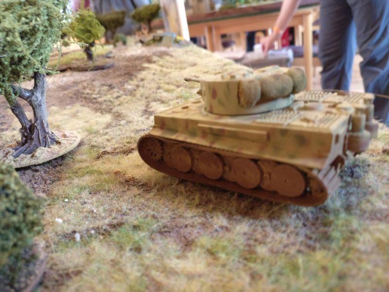 Auf deutscher Seite taucht der Tiger I auf.