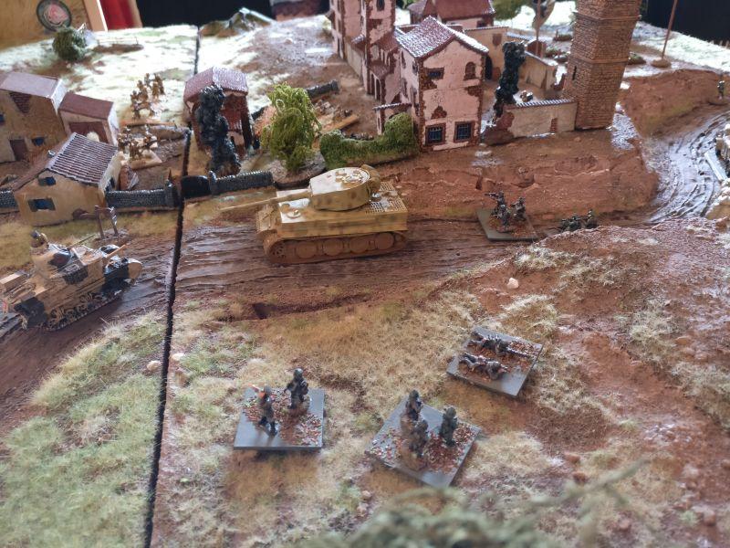 Die übrigen Deutschen Trupps stehen etwas abseits.