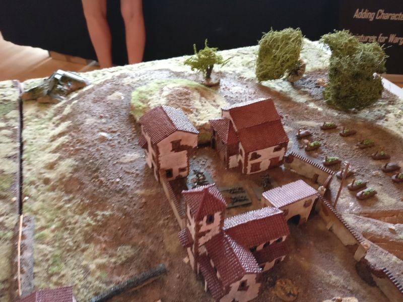 Das vierte Feld des Klosters wurde von den Deutschen bis zuletzt gehalten.