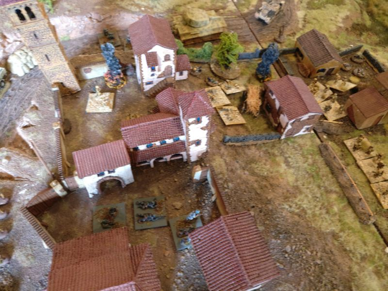 Glücklicherweise war das Spiel zu Ende. Mit dem LMG hätte der Ariovist eventuell nochmal ein Feld des Klosters leerfegen können.