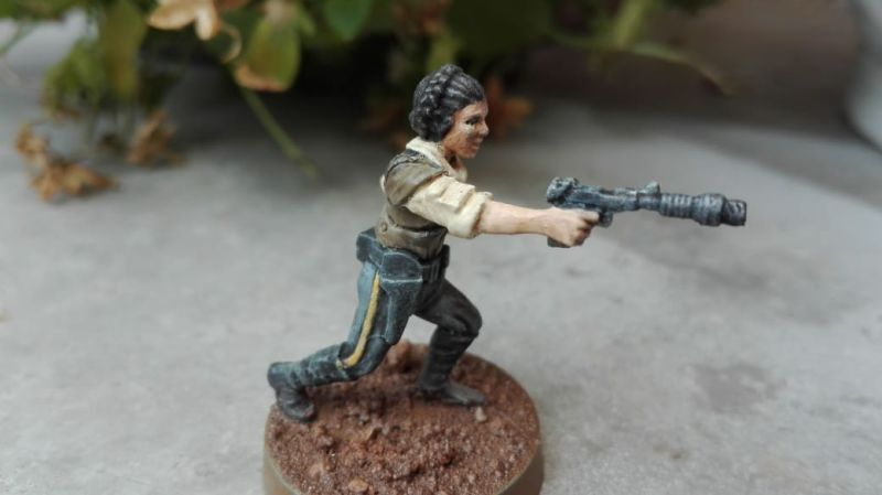 Star Wars Legion - Prinzessin Leia Organa, die Terrorbraut