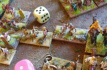 "DBMM: Fighting against… ""2/02 Mountain Indian"", Rahgouls Steamroller gegen Sturmis Fußgänger."