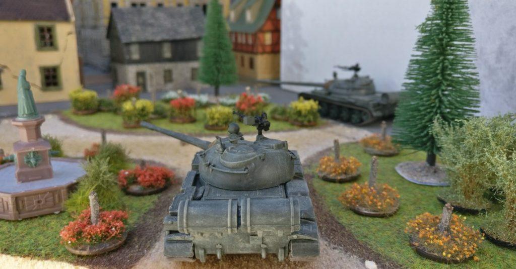 T-55, T-72 und BTR-80 aus Minsk. Umland-Fotos aus Eisenstadt-Fritzvorstadt