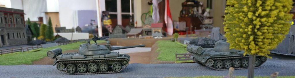 T-55, T-72 und BTR-80 aus Minsk. Umland-Fotos aus Eisenstadt-Schwarzenau