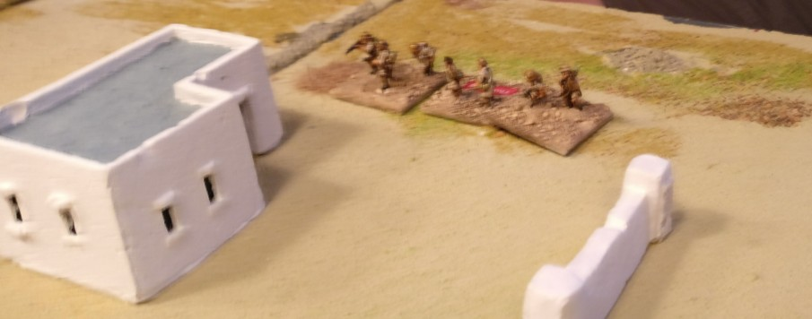 Auch Rifles gehen am Plattenrand in Stellung.