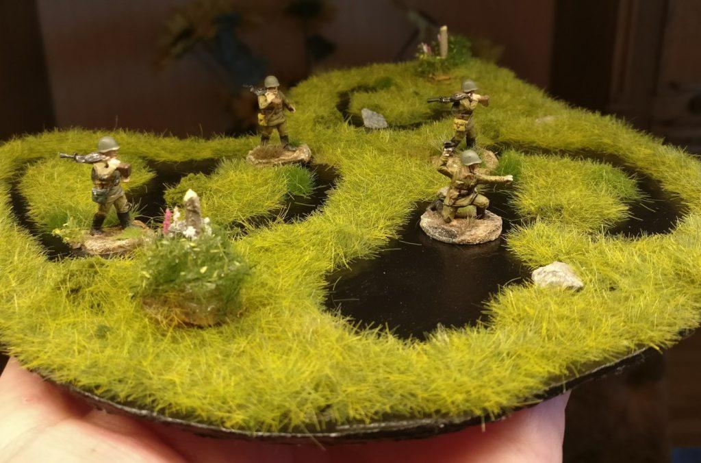 Und ein paar Sumpfschleicher mussten die Boggy Flat Ground-Teile auch gleich mal ausprobieren.