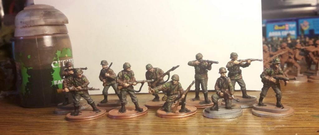 Panzergrenadiere der 2. Panzerdivision.