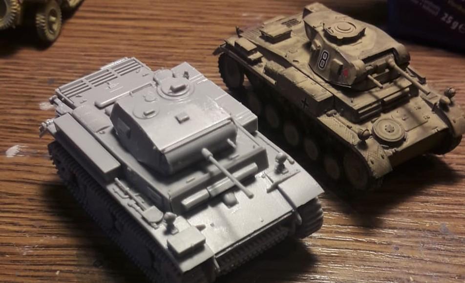 Luchse und Panzer II wurden auch fertiggestellt.
