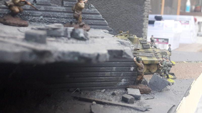 Erste Gefechte mit den Panzergrenadieren...
