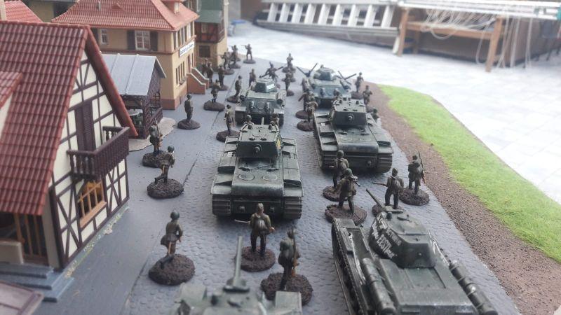 Die Russen haben in der Kaserne nichts zurück gelassen.