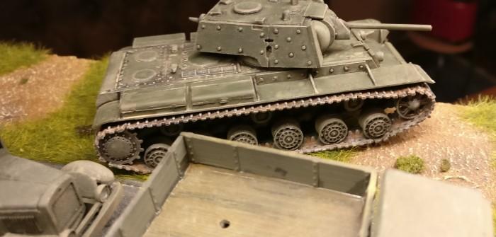 Dicker Bello: KW-1 Modell 1941 für Sturmis Rote Armee