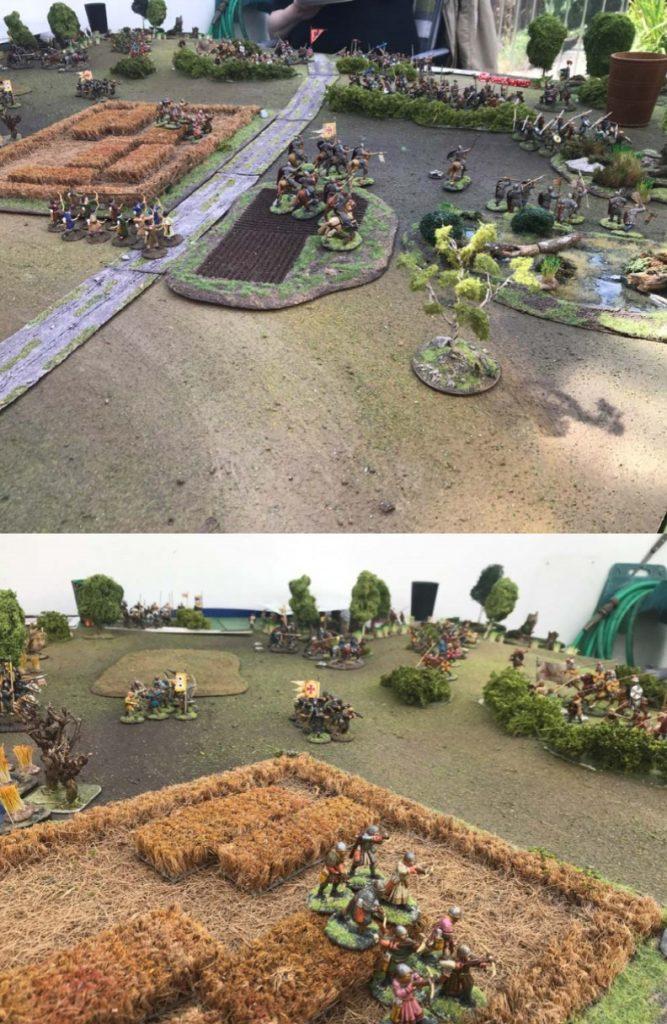 Die Schlacht bei Hastings. Fotos vom Table-top-Spiel.