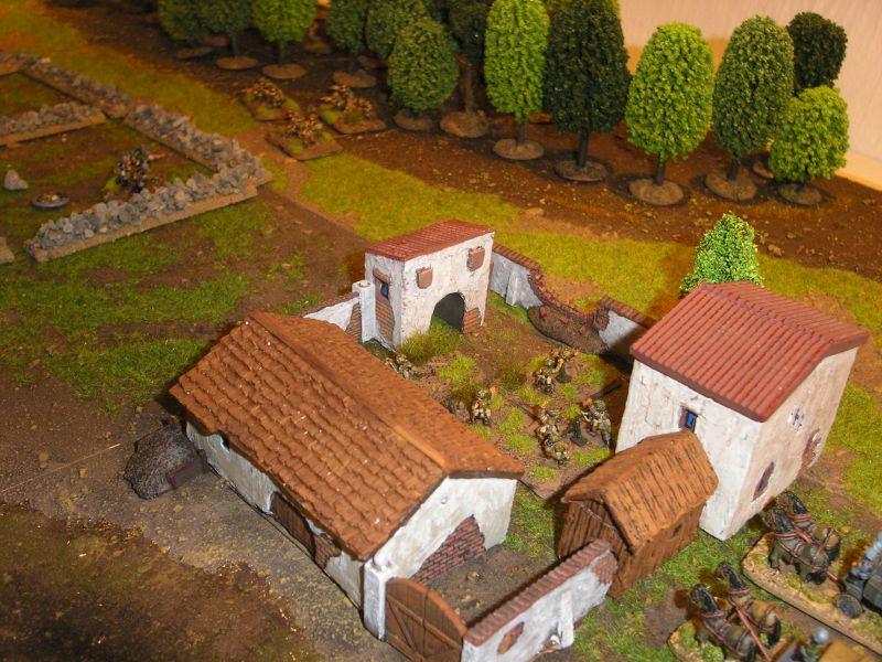 """""""Anzio"""": Szene aus Willis erstem PBI-Spiel, einem Gefecht aus der Operation Shingle, der Schlacht um Anzio."""