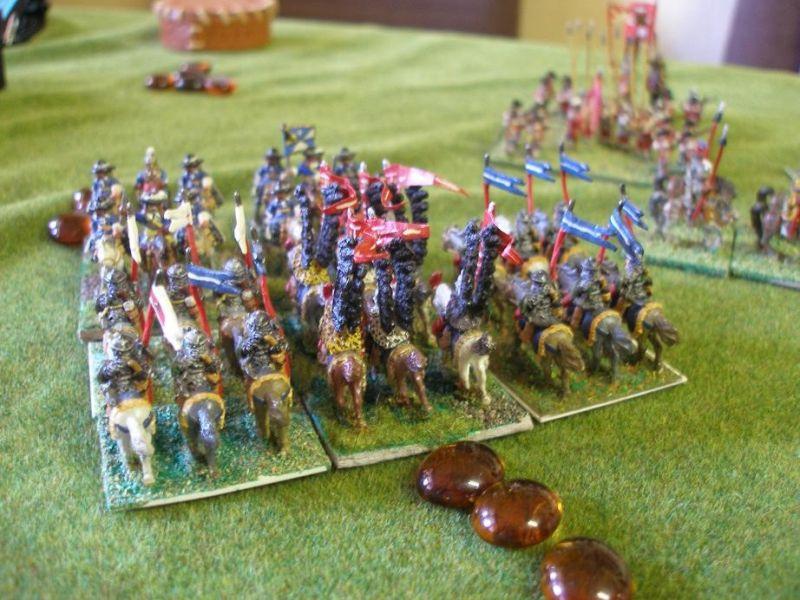 Vorwitzige Kossacken Überläufer die für Spanien kämpfen bereuen Ihren Angriff gegen die polnischen abgesessenen Garde-Dragoner alsbald….